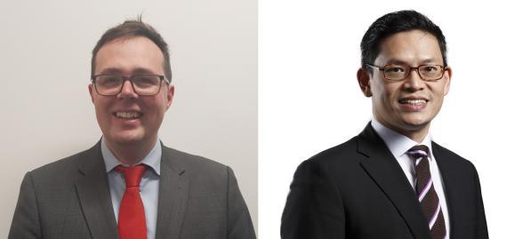 Robert Gilhooly y Nick Yeo, gestores de Aberdeen Standard Investments.