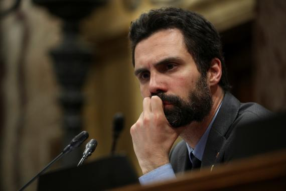 Roger Torrent, presidente del Parlament de Cataluña.