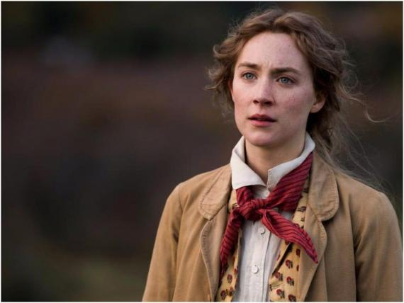 "Saoirse Ronan starred as Jo March in the 2019 adaptation of ""Little Women."""