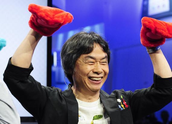 Shigeru Miyamoto, director creativo de Nintendo.