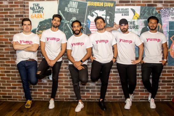 Socios fundadores de Yump.