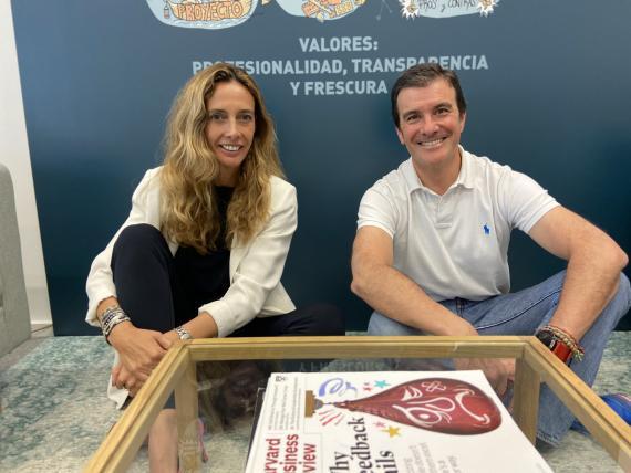 Sofia Medem y Gonzaga Avello, fundadores de Connecting Visions.