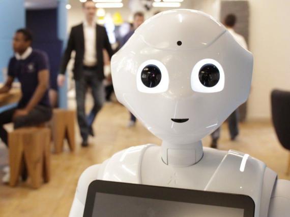 El robot humanoide Pepper de Softbank se utiliza en todo el mundo.