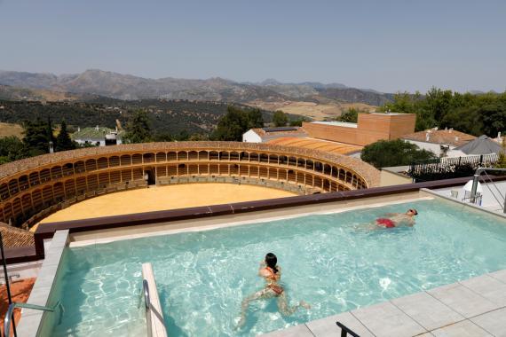 turistas verano en España