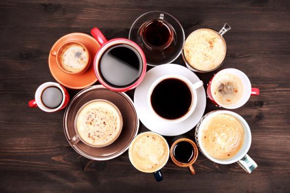 Varias tazas de café.