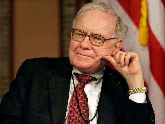 El multimillonario inversor Warren Buffet.