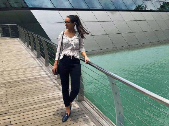 Ana Gavia es la fundadora y directora ejecutiva de Pinkcolada, un negocio con ganancias de más de un millón de dólares.