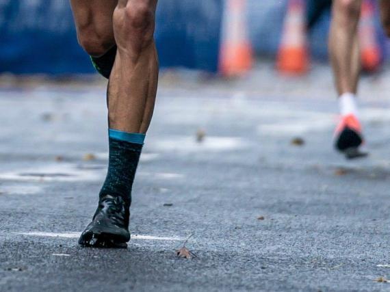 Un zapato Nike Vaporfly.