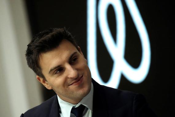 Brian Chesky, CEO of Airbnb, which reportedly will confidentially file its initial public offering paperwork later this month. Mike Segar/Reuters