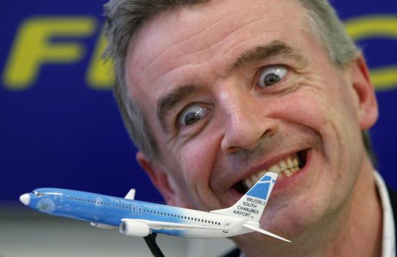 El CEO de Ryanair, Michael O'Leary, en una imagen de archivo.