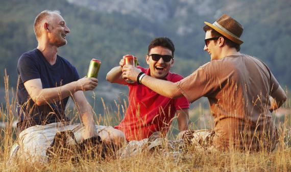Cervezas con amigos