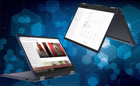 Cinco nuevos portátiles Lenovo Yoga con Alexa, WiFi 6 y carga rápida
