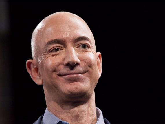 Jeff Bezos. David Ryder/Getty