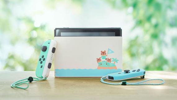 Nintendo Switch edición Animal Crossing: New Horizons