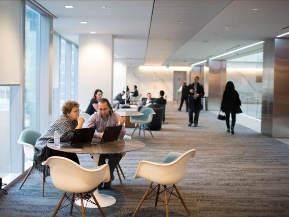 Oficina de Deloitte en Toronto, Canadá.