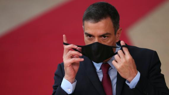 Pedro Sánchez, en el Consejo Europeo de julio.