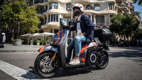 Seat Mo, servicio de motosharing