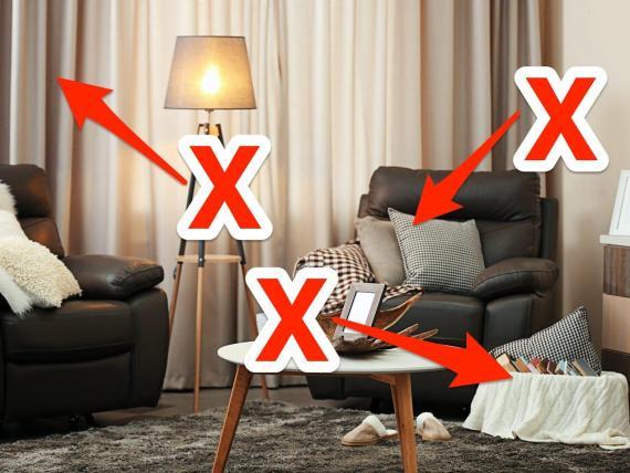 Los pequeños cambios pueden hacer que una habitación sea más tranquila.