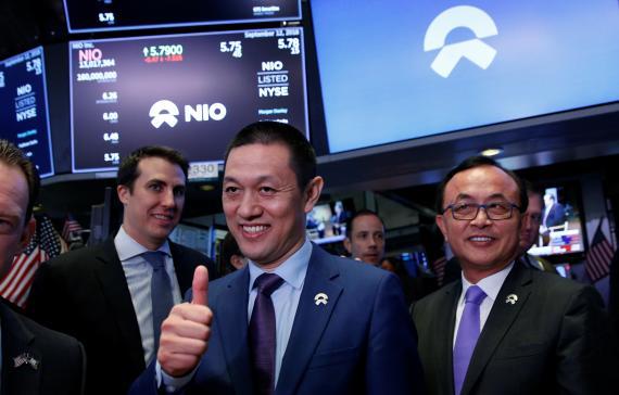 El CEO de Nio, William Li.