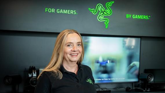 Yvonne Berghaus, directora de RRHH de Razer en Europa.