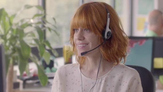 Alexandra Jiménez como Sandra en 'Kiki, el amor se hace'.