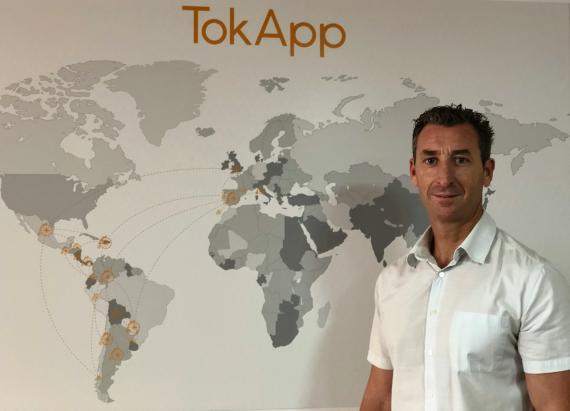 Edelmiro Justo, Director Adjunto de TokApp.