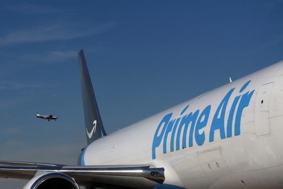 Avión de Amazon Prime Air