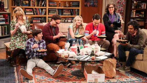 Fotograma de la serie 'The Big Bang Theory'