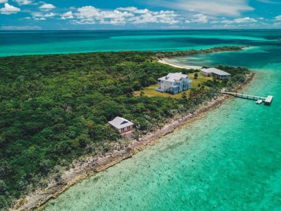 Cayo Pez Grande en las Bahamas.