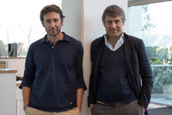 Clemente Cebrián y Álvaro Cebrián, fundadores de El Ganso.
