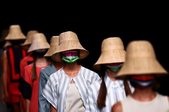 Desfile Devota & Lomba durante la crisis del coronavirus