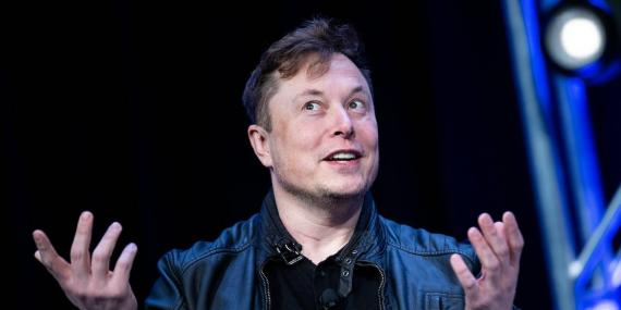 Elon Musk speaks during the Satellite 2020 at the Washington Convention Center on March 9, 2020, in Washington, DC. Brendan Smialowski / AFP via Getty Images