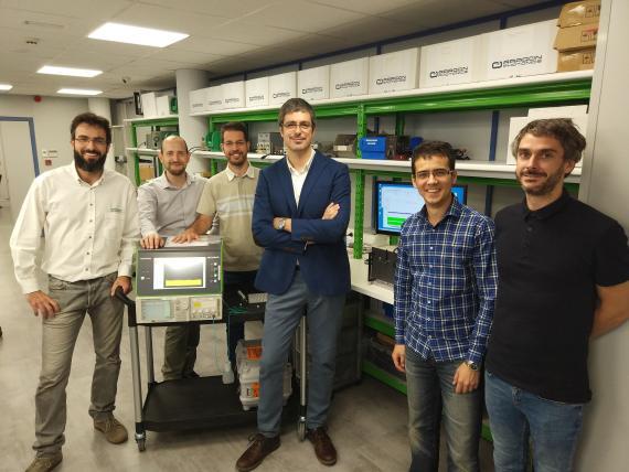 El equipo de Aragón Photonics.