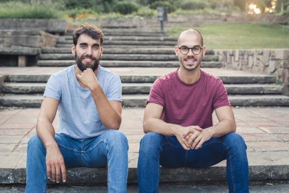 Armand Folch y Rubén Roc, fundadores de De La Conca