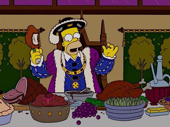 Una imagen de la la serie 'The Simpsons'