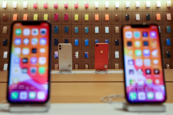 iPhone en tienda de Apple