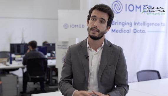 Javier de Oca, cofundador y CEO de IOMED.