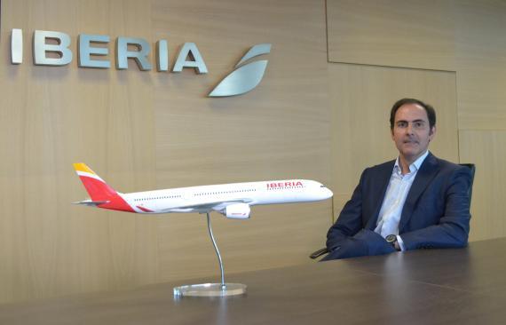 Javier Sánchez-Prieto, presidente y CEO de Iberia