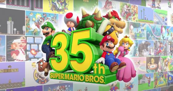 Mario 35 aniversario