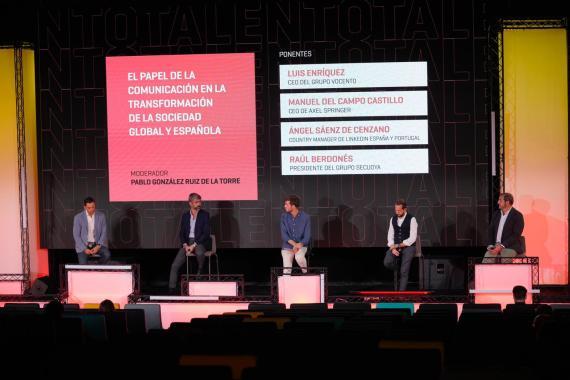 Mesa redonda sobre medios de comunicación con Axel Springer, Vocento, Secuoya y LinkedIn en el encuentro FÓRUM.