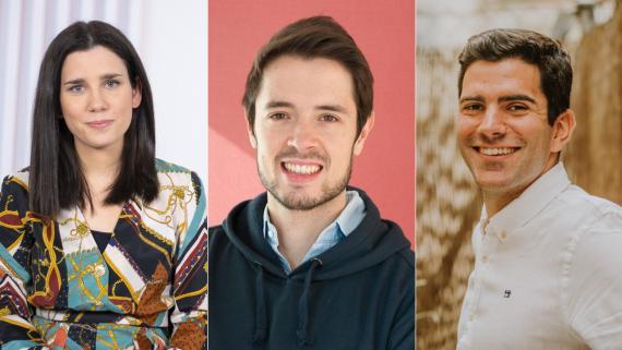Mireia Badía, fundadora de Grow.ly; Borja Aranguren, CEO de Cobee; Daniel Espejo, country manager de Klarna en España.