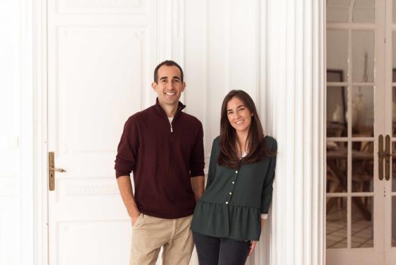 Pablo Crespo y Carmen Bodallo, fundadores de Makai.