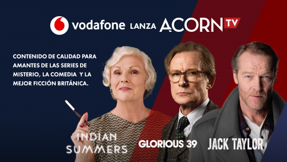 Acorn TV en Vodafone