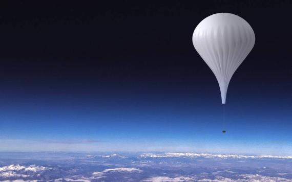 Cápsula y globo de EOS-X Space