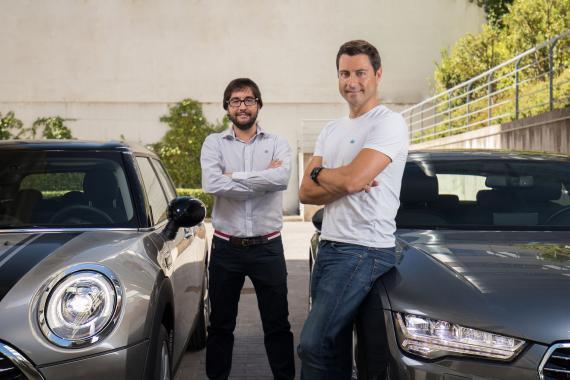 Carlos Rivera y Pablo Fernández, cofundadores de Clicars.