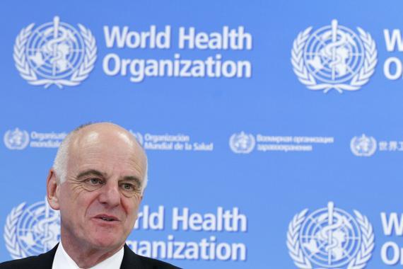 David Nabarro, el encargado de la OMS para el coronavirus en Europa.