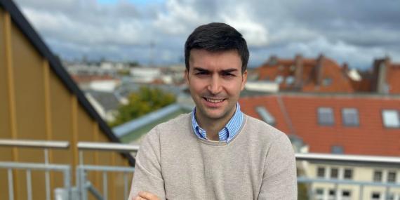 David Padilla, consejero delegado y cofundador de Kenjo