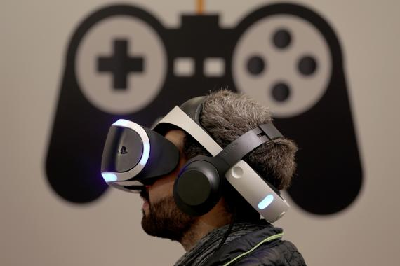 Gafas de realidad virtual de Sony