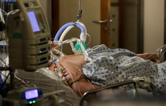 Hospitalizado por coronavirus