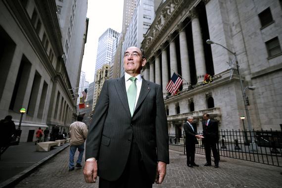 Ignacio Sánchez Galán, presidente de Iberdrola en Wall Street